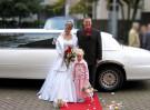 Hochzeitslimousine Stretchlimousine Hochzeitsfahrzeug